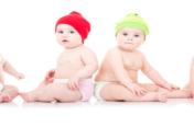 Bild von mehreren Babys im 11 Monat
