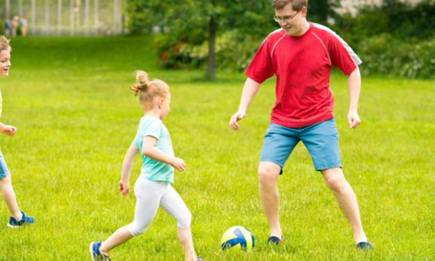 Sport im Alter von 4 bis 5 Jahre
