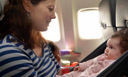 Urlaub mit einem Säugling