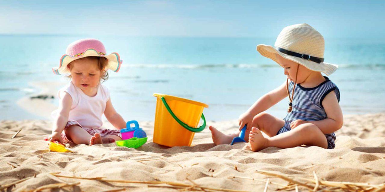 Strandurlaub mit dem Kleinkind