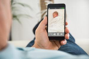 Babyphone App mit Baby