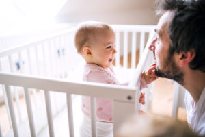Bild von Vater mit Tochter