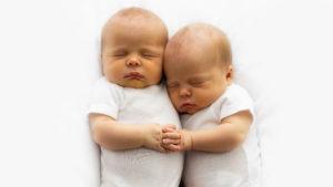 Bild von Zwillingen