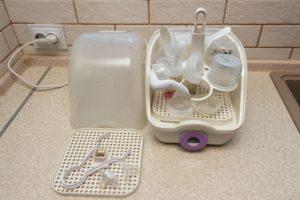 Bild von Babyflaschen Vaporisator