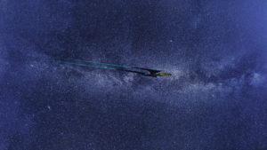 Bild von Raumschiff