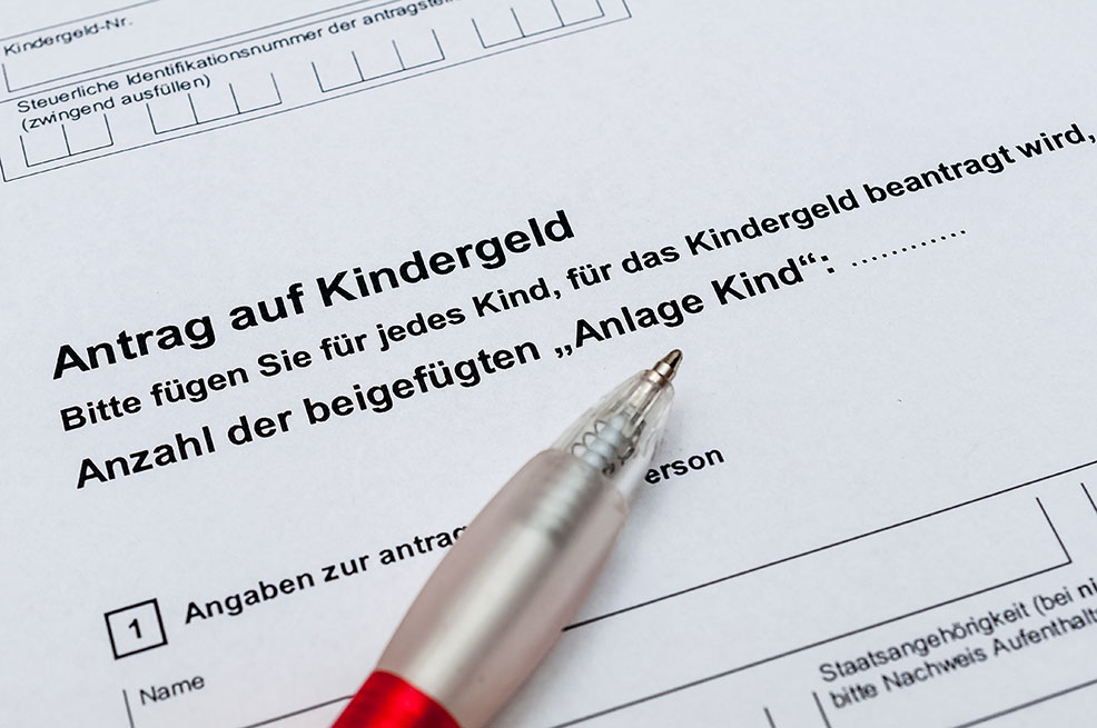 Bild von Antrag auf Kindergeld stellen |