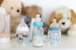 Bild von Babyflaschen
