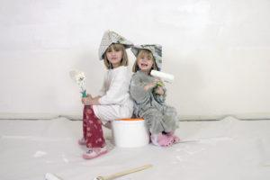 Bild von malernden Kindern