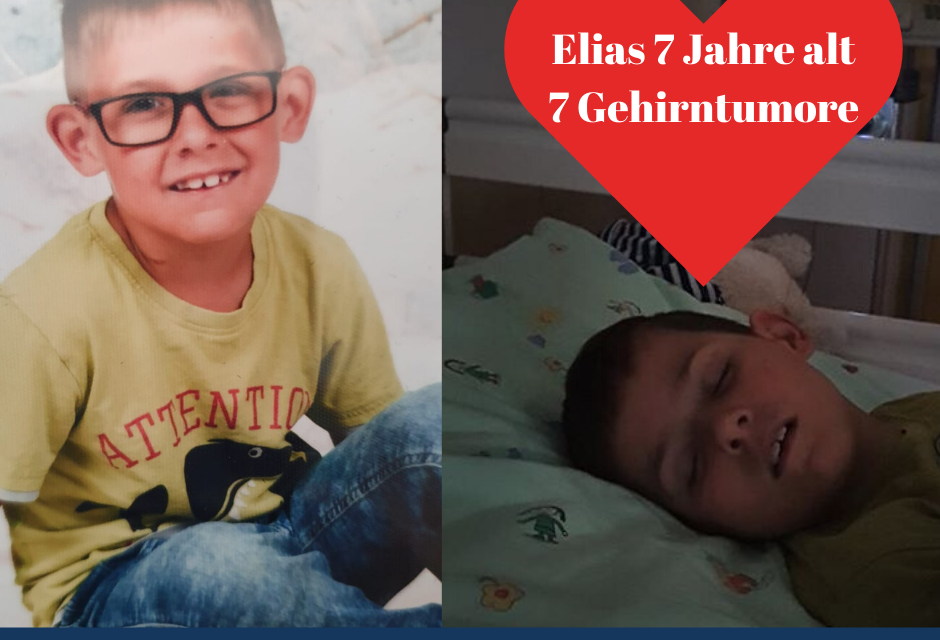 Elias 7 Jahre – 7 Gehirntumore
