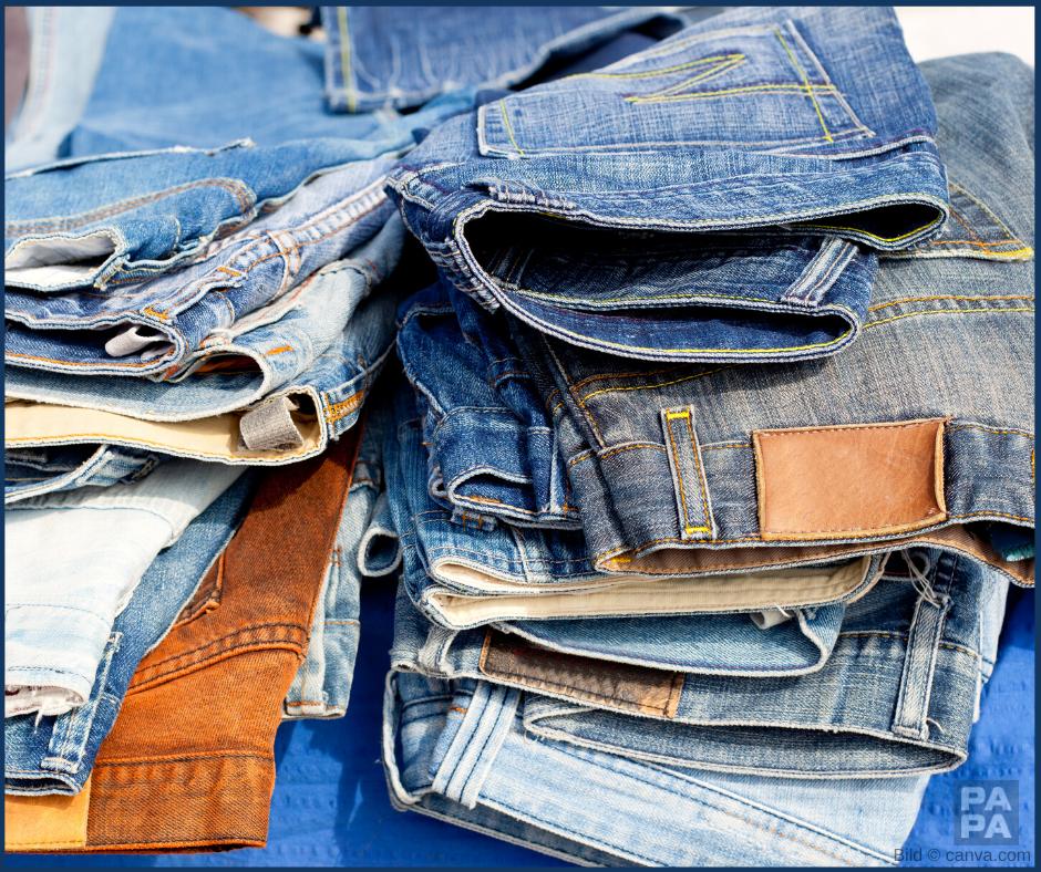 Ein Bild mit Jeans