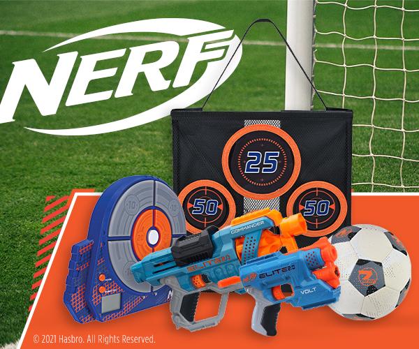 NERFs für sportliche Aktivitäten während der EM