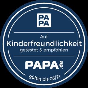 Kinderfreundlichkeit getestet für Puks / Cortea