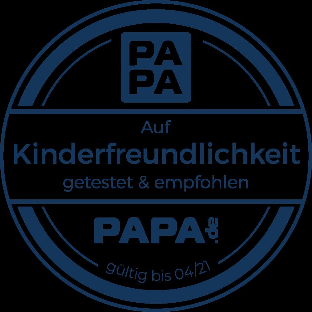 Auszeichnung für die Toggolino App von papa.de ( https://www.papa.de )
