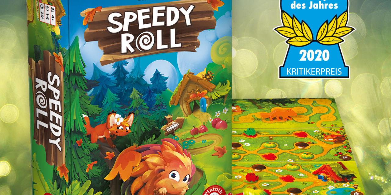 Speedy Roll – Kinderspiel des Jahres 2020