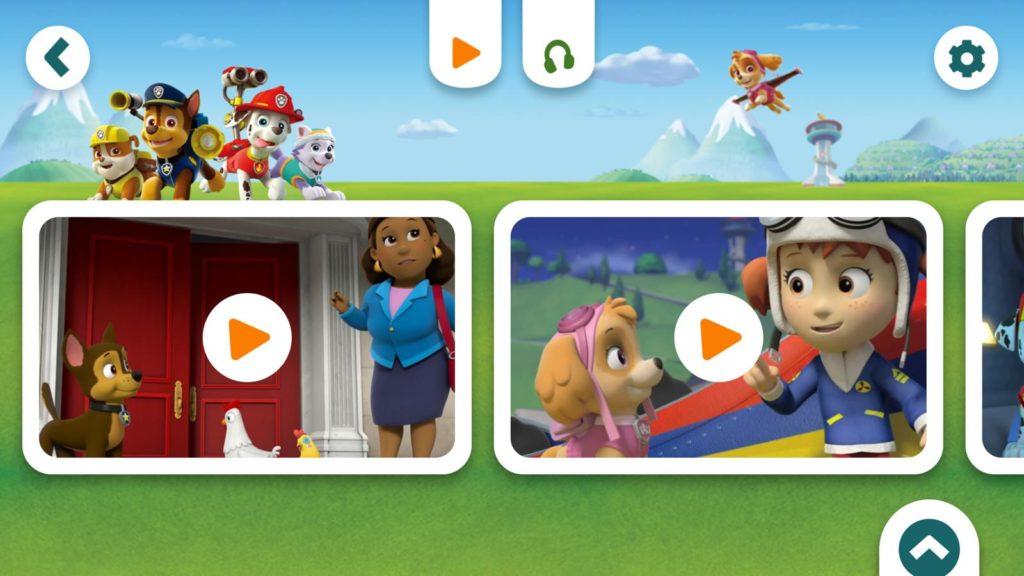 Bild Serien in der Toggolino App