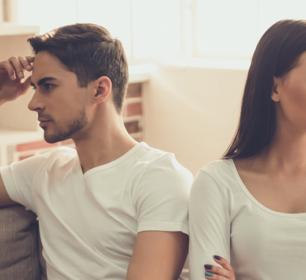 Bild eines Paares - Streit im ersten Lebensjahr, was tun?