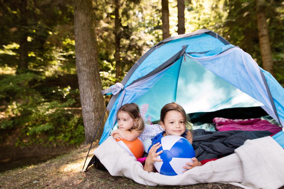 Im Zelt Vor Blitz Geschützt : Camping und zelten mit kindern darauf musst du achten