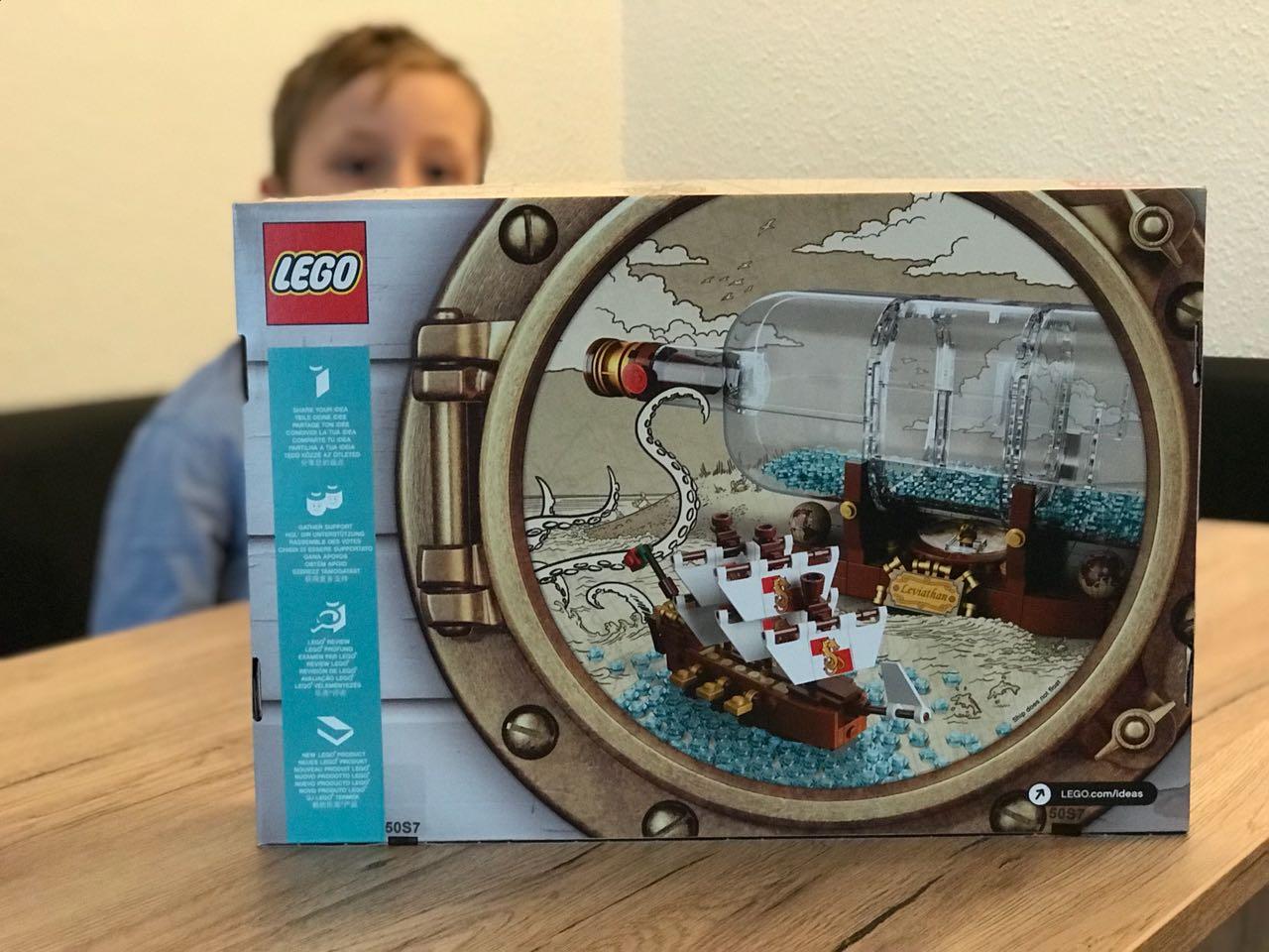 Bild: LEGO Idea - Schiff ind er Flache