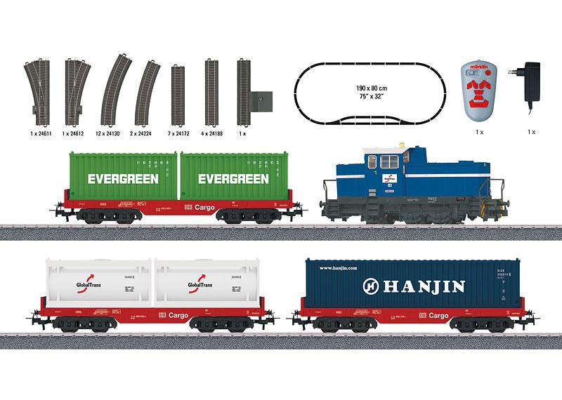 Bild Inhalt des Start Up Containerbahn