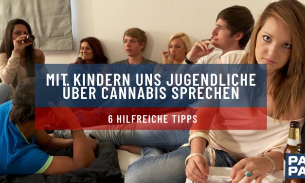 Mit Kindern uns Jugendliche über Cannabis sprechen: 6 hilfreiche Tipps