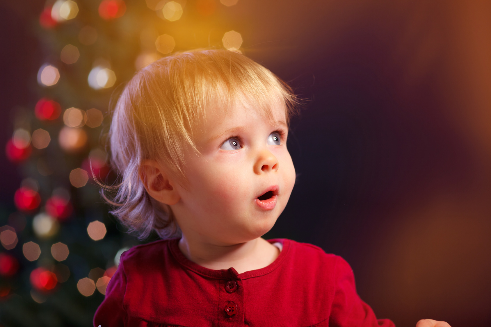 Bild Baby zu Weihnachten