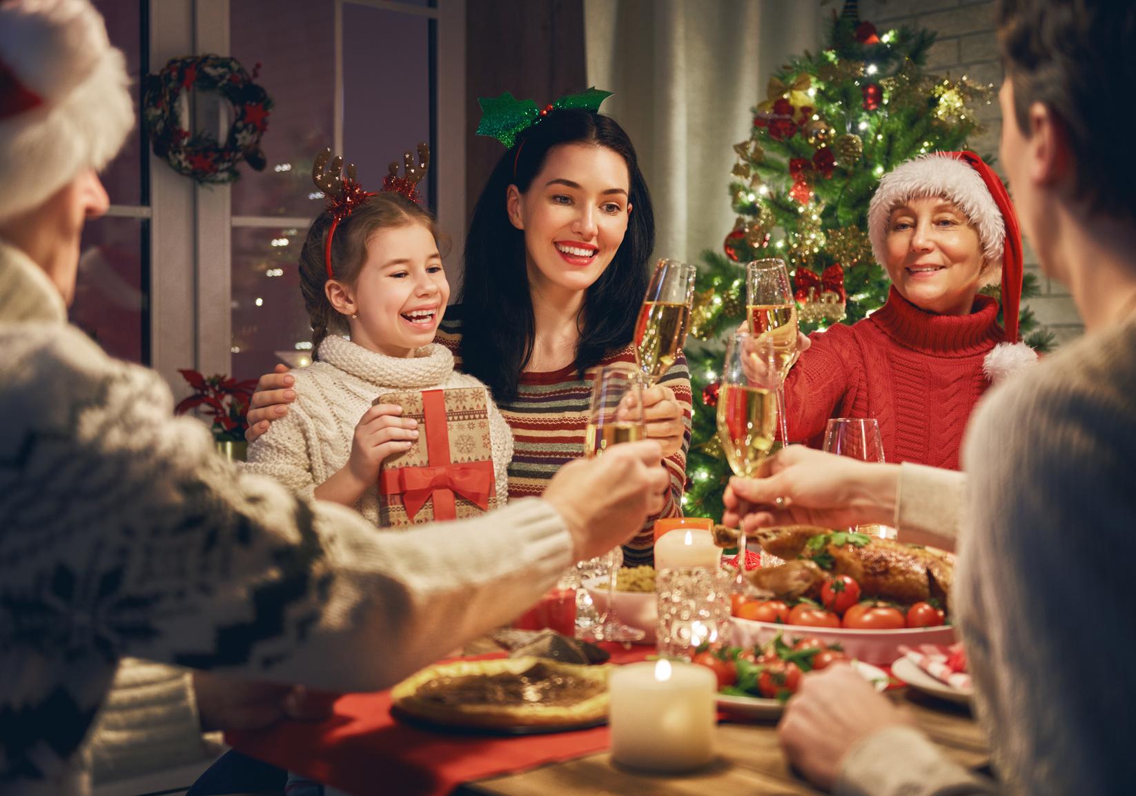 Bild Weihnachten mit der Familie