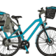 Bild eines Fahrradkinbdersitz