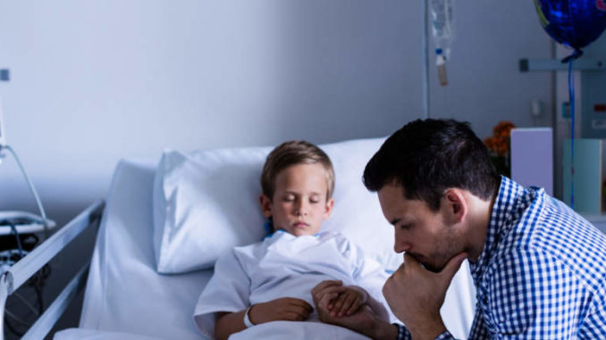 Kind krank - Eltern dürfen zuhause bleiben