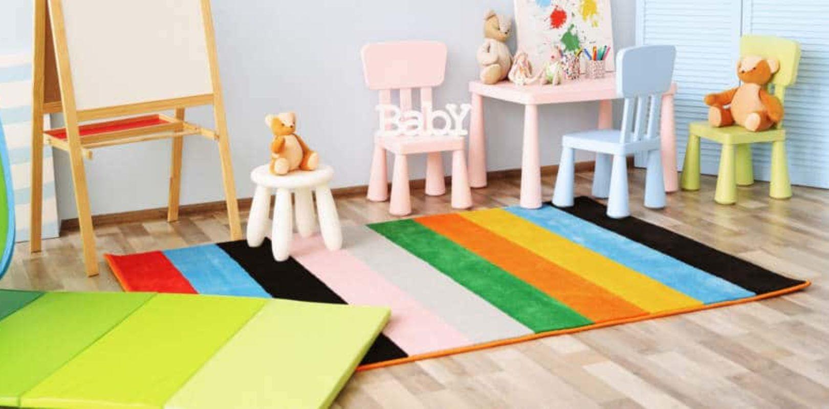 Kinderzimmerteppich: So wichtig ist er im Kinderzimmer › papa.de