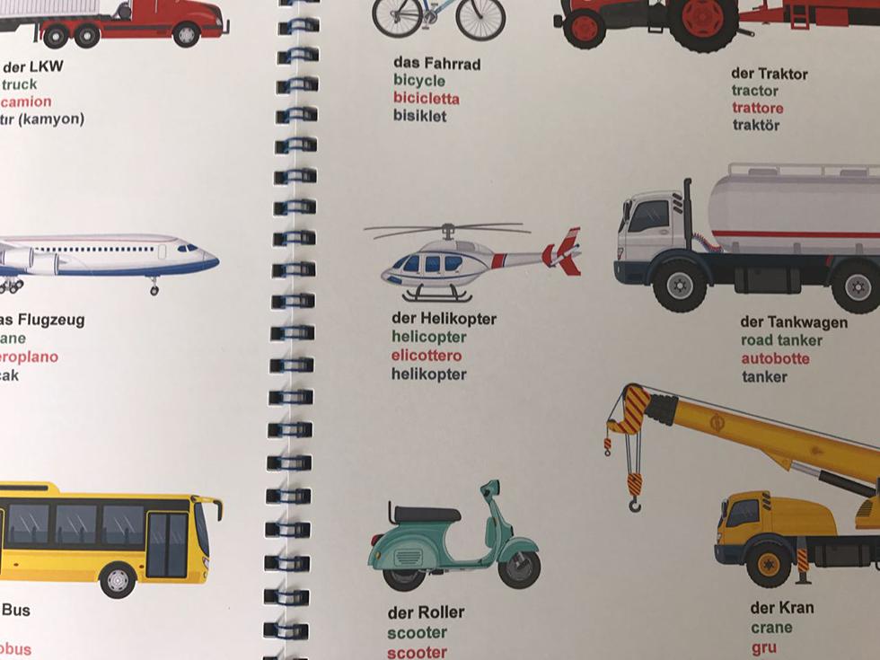 Bild Multikulti Bildwörterbuch
