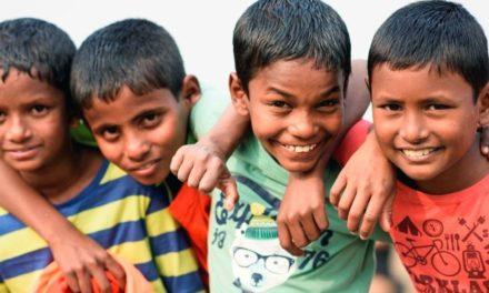 Einkauf von P&G Produkten bei REWE unterstützt die Kindernothilfe in Bangladesh