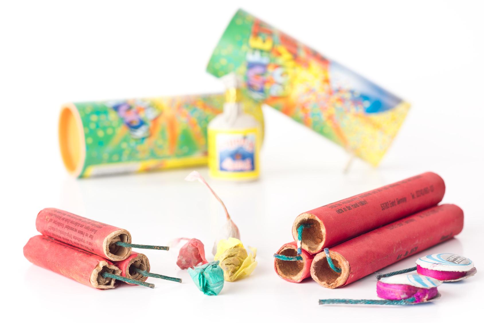 Bild Feuerwerk für Kinder nicht geeignet