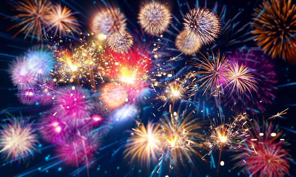 Bild Silvester Feuerwerk