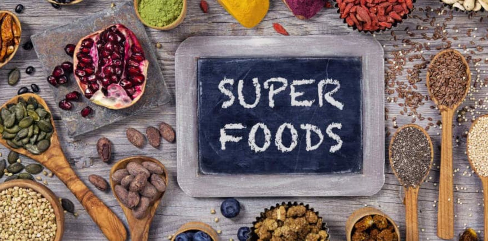 Foto: Superfood Lebensmittel
