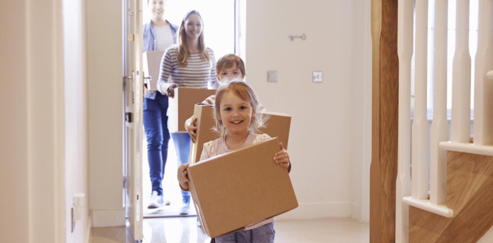 umzug mit kindern so zieht ihr mit wenig stress ins neue. Black Bedroom Furniture Sets. Home Design Ideas