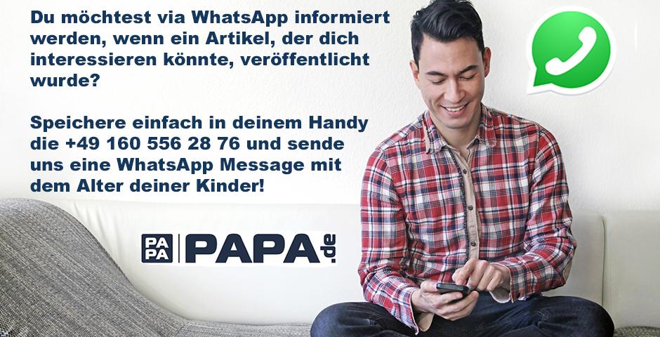 Bild Whatsapp bei papa.de